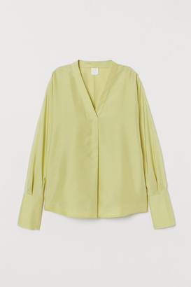H&M Silk Blouse