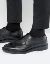 Zign Leather Brogue Derby Shoes