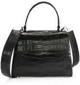 Thumbnail for your product : Nancy Gonzalez Small Lexi Crocodile Top Handle Bag