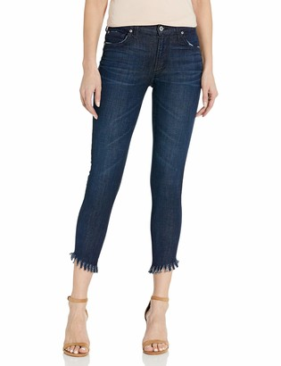 James Jeans Women's Twiggy Ankle Length Skinny Jean in Siren Fringe 24