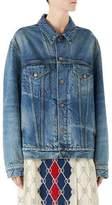 Gucci Denim Jacket with Applique