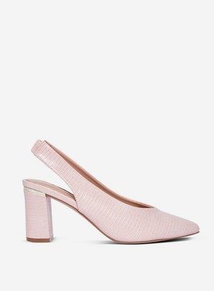 Dorothy Perkins Womens Blush 'Emily' Court Shoes