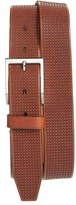 Allen Edmonds Men's 'Shorewood Avenue' Houndstooth Leather Belt