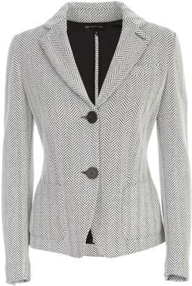 Emporio Armani Chevron Elastic Jacket