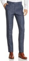 Valentini Mélange Textured Slim Fit Trousers