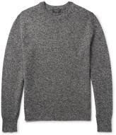 Rag & Bone Haldon Mélange Cashmere Sweater - Charcoal