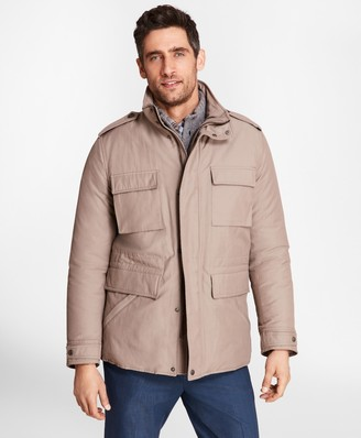 Brooks Brothers Water-Repellent Tech Twill Field Jacket