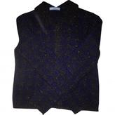 Prada Navy Cashmere Knitwear