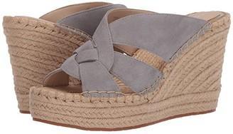 Kenneth Cole New York Olivia Swirl Mule (Grey) Women's Shoes