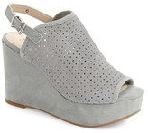 Seychelles Women's 'Landscape' Perforated Platform Wedge Sandal