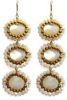 Viv&Ingrid Nova 3-Drop Earrings