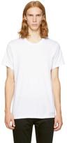 Calvin Klein Underwear Three-pack White Crewneck T-shirt