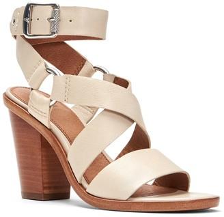 Frye Sara Harness Block Heel Sandal