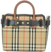 Burberry Mini The Belt Bag With Vintage Check Motif And Studs