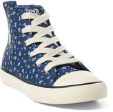 Ralph Lauren Sag Harbour Canvas Sneaker