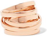 Repossi Technical Berbère 18-karat Rose Gold Ring - 55