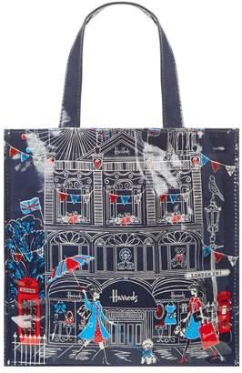 Harrods London SW1 Small Shopper Bag