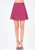 Bebe Knit Circle Skirt