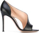 Gianvito Rossi twist sandals - women - Leather - 38.5