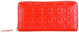 Comme des Garcons Embossed Flowers Wallet