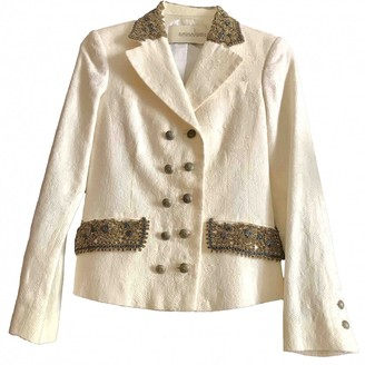 Ermanno Scervino Ecru Jacket for Women