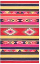 nuLoom Ladonna Flatweave Wool Tribal Kilim Rug