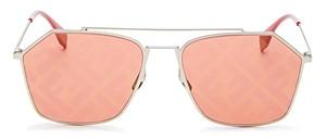 Fendi Unisex Geometric Sunglasses, 56mm
