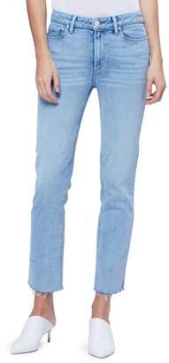 Paige Cindy Raw Hem Straight-Fit Jeans