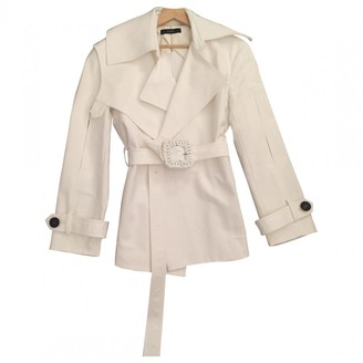 Ellery White Cotton Jacket for Women