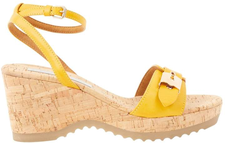 Stella McCartney Stella Mc Cartney Yellow Leather Sandals