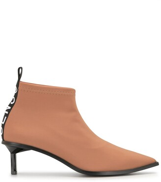 Senso Pointed Toe Kitten Heel Boots