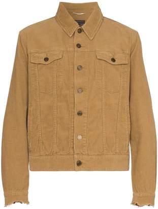 Saint Laurent classic corduroy jacket