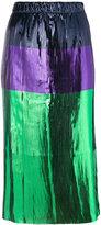 Golden Goose Deluxe Brand colour-block skirt
