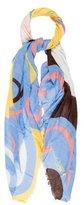 Diane von Furstenberg Printed Woven Scarf