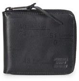 Herschel 'Walt' Leather Zip Wallet