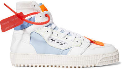 huge selection of 88c91 316ab Off White Leather Sneakers - ShopStyle