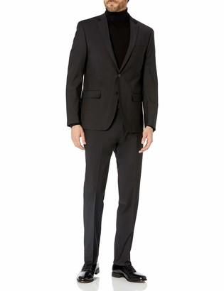 Calvin Klein Men's Masterton Single Breast 2 Button with Infinite Stretch Suit