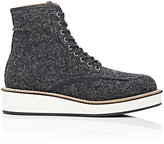Givenchy Men's Platform Work Boots-GREY