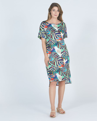 Faye Black Label Laura High Low Dress