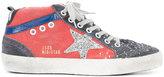 Golden Goose Deluxe Brand Mid Star sneakers - women - Suede/Canvas/rubber - 36