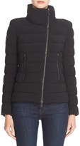 Moncler Women's 'Antigone' Water Resistant Down Moto Jacket