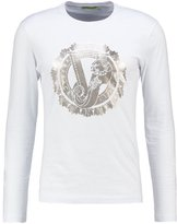 Versace Jeans Long Sleeved Top Bianco