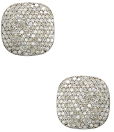 Amrapali 18K Yellow Gold & 2.20 Total Ct. Diamond Square Stud Earrings