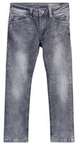 Diesel Grey Darron Regular Slim Tapered Jeans