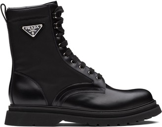 Prada Ankle-Length Hiking-Style Boots