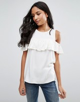 Pieces Ibbi Ruffle Tank Top