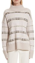 3.1 Phillip Lim Women's Abstract Float Plaid Pullover