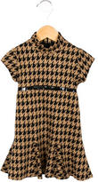 Helena Girls' Houndstooth A-Line Dress w/ Tags