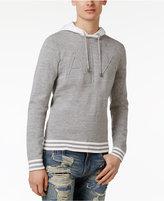 Armani Exchange Men's Embossed-Logo Cotton Hoodie