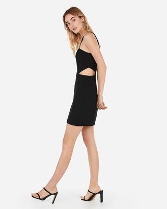 Express Cut-Out Mini Sheath Dress